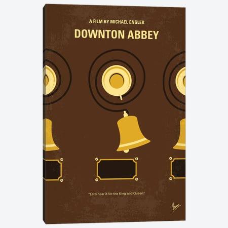 My Downton Abbey Minimal Movie Poster Canvas Print #CKG1386} by Chungkong Canvas Wall Art