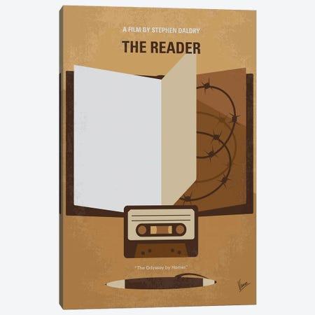 My The Reader Minimal Movie Poster Canvas Print #CKG1396} by Chungkong Art Print