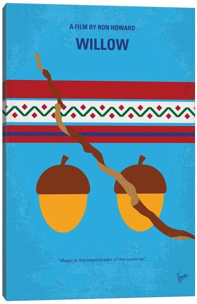 My Willow Minimal Movie Poster Canvas Art Print