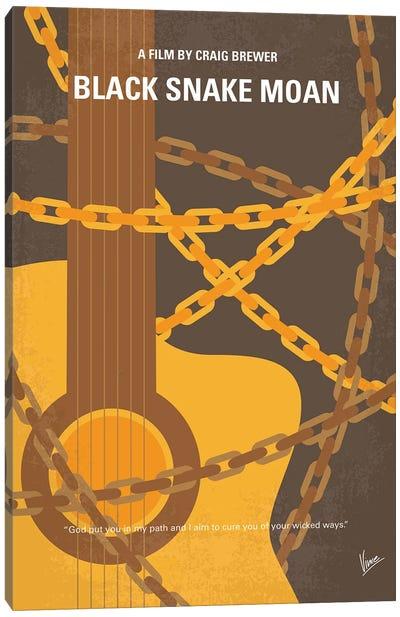 My Black Snake Moan Minimal Movie Poster Canvas Art Print