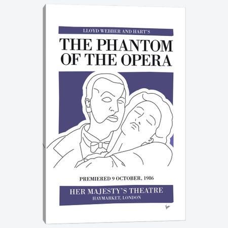 My The Phantom Of The Opera Musical Poster Canvas Print #CKG1418} by Chungkong Art Print
