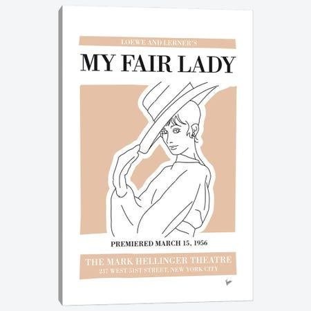 My My Fair Lady Musical Poster Canvas Print #CKG1421} by Chungkong Canvas Art