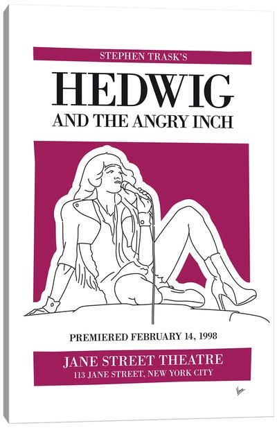 My Hedwig And The Angry Inch Musical Poster Canvas Art Print