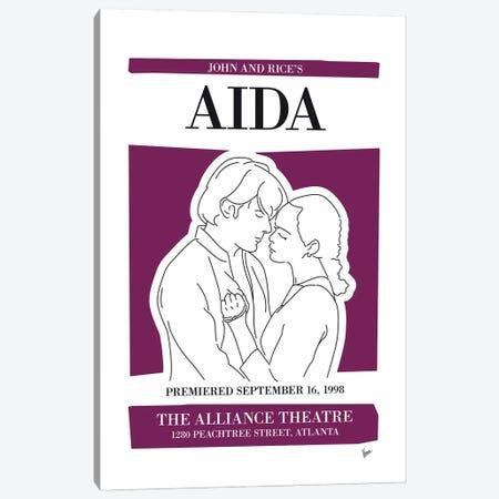 My Aida Musical Poster Canvas Print #CKG1459} by Chungkong Canvas Art Print
