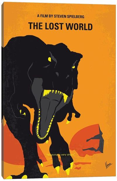 My The Lost World Minimal Movie Poster Canvas Art Print