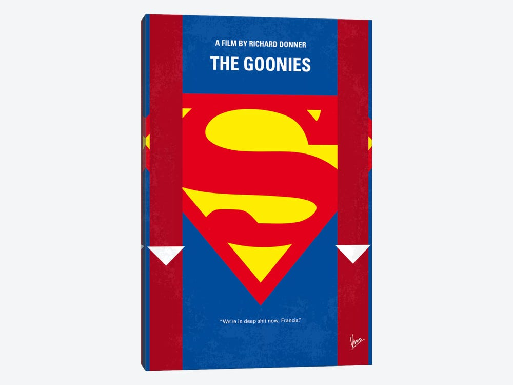 The Goonies Minimal Movie Poster by Chungkong 1-piece Canvas Art