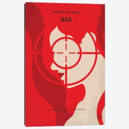My Ava Minimal Movie Poster Canvas Print #CKG1503} by Chungkong Canvas Print