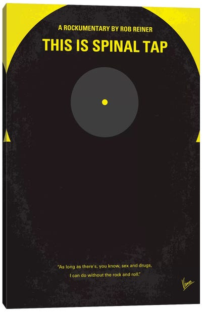 This Is Spinal Tap Minimal Movie Poster Canvas Print #CKG155
