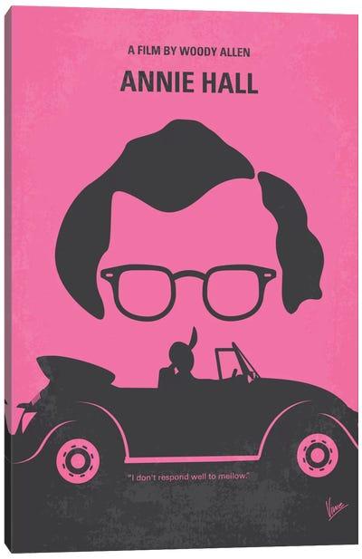 Annie Hall Minimal Movie Poster Canvas Art Print