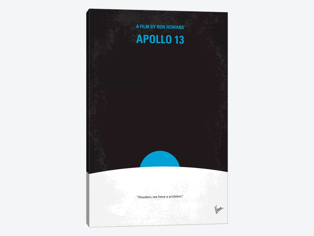 Apollo 13 Minimal Movie Poster 1-piece Art Print