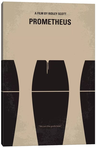 Prometheus Minimal Movie Poster Canvas Art Print