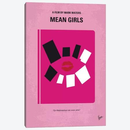 Mean Girls Minimal Movie Poster Canvas Print #CKG16} by Chungkong Canvas Art Print