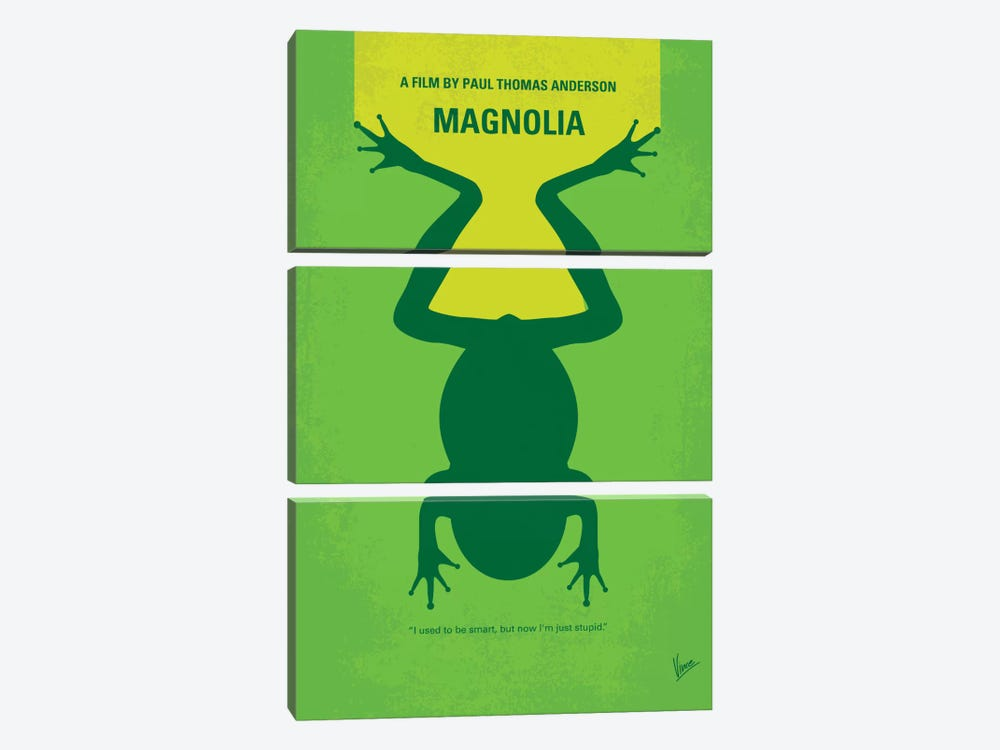 Magnolia Minimal Movie Poster by Chungkong 3-piece Art Print