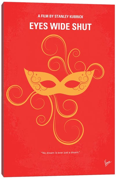 Eyes Wide Shut Minimal Movie Poster Canvas Art Print