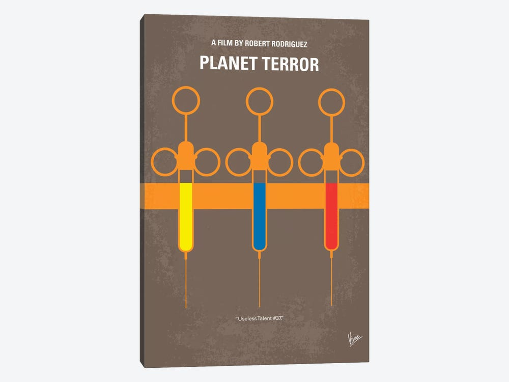 Planet Terror Minimal Movie Poster by Chungkong 1-piece Art Print