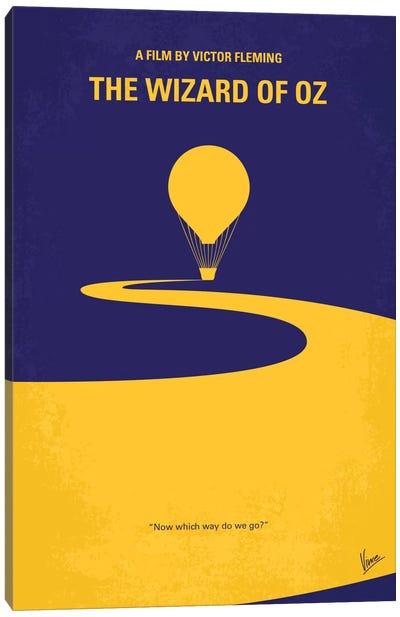 Wizard Of Oz Minimal Movie Poster Canvas Art Print