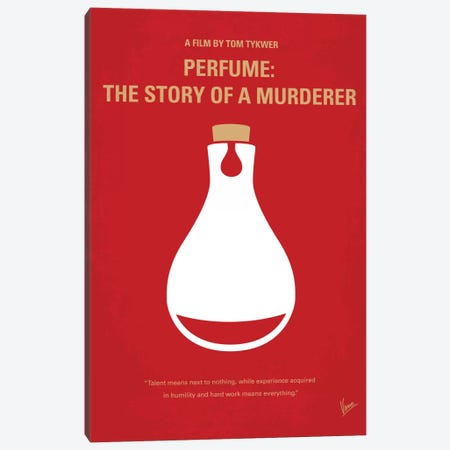 Perfume: The Story Of A Murderer Minimal Movie Poster Canvas Print #CKG205} by Chungkong Canvas Artwork