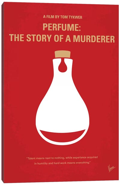 Perfume: The Story Of A Murderer Minimal Movie Poster Canvas Print #CKG205