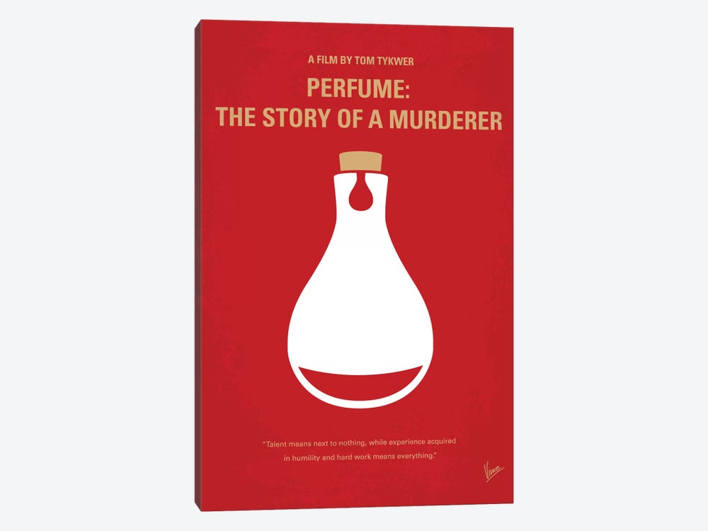 Perfume: The Story Of A Murderer Minimal Movie Poster by Chungkong 1-piece Canvas Print