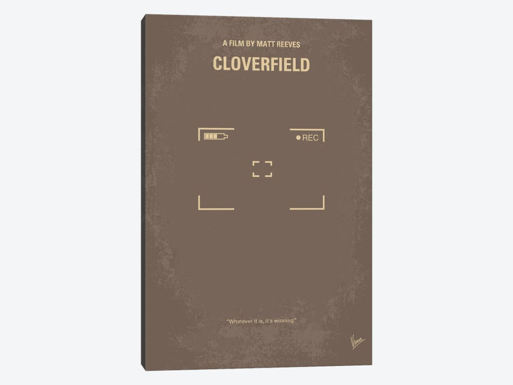 Cloverfield Minimal Movie Poster by Chungkong 1-piece Art Print
