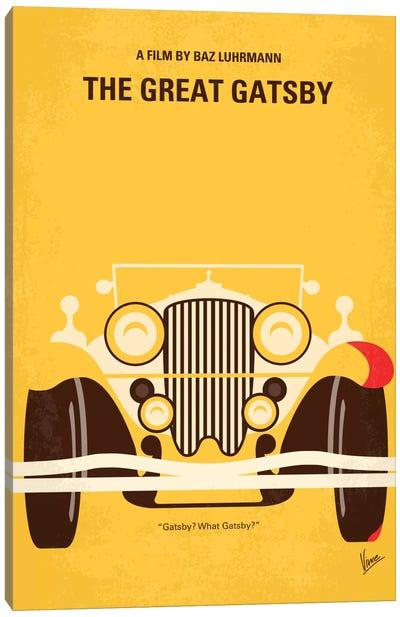 The Great Gatsby Minimal Movie Poster Canvas Art Print
