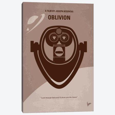 Oblivion Minimal Movie Poster Canvas Print #CKG226} by Chungkong Canvas Wall Art