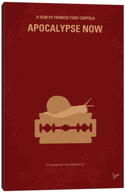 Apocalypse Now Minimal Movie Poster Canvas Art Print