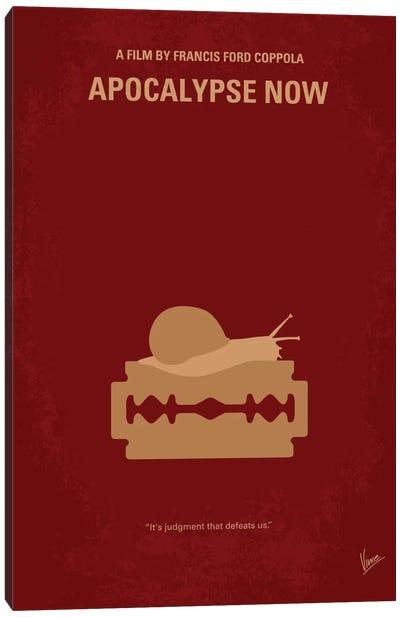 Apocalypse Now Minimal Movie Poster Canvas Art Print