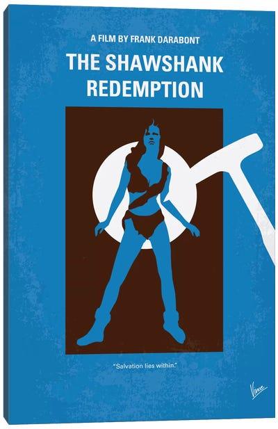 The Shawshank Redemption Minimal Movie Poster Canvas Art Print
