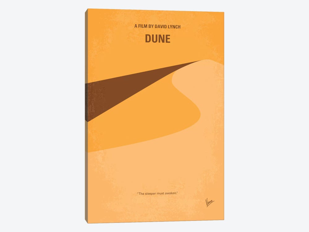 Dune Minimal Movie Poster by Chungkong 1-piece Canvas Art
