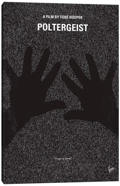 Poltergeist Minimal Movie Poster Canvas Art Print