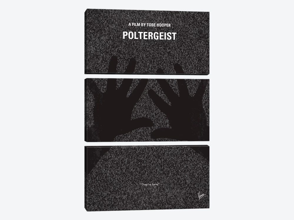 Poltergeist Minimal Movie Poster by Chungkong 3-piece Canvas Print