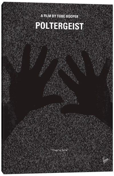 Poltergeist Minimal Movie Poster Canvas Art Print