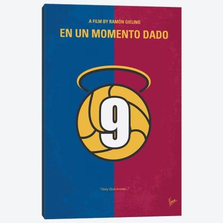 En Un Momento Dado Minimal Movie Poster Canvas Print #CKG275} by Chungkong Canvas Art Print