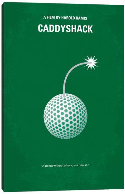 Caddyshack Minimal Movie Poster Canvas Art Print