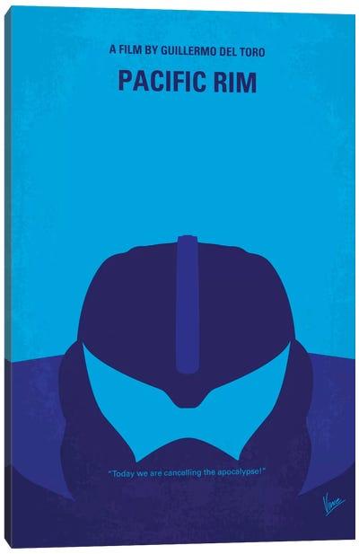 Pacific Rim Minimal Movie Poster Canvas Print #CKG316