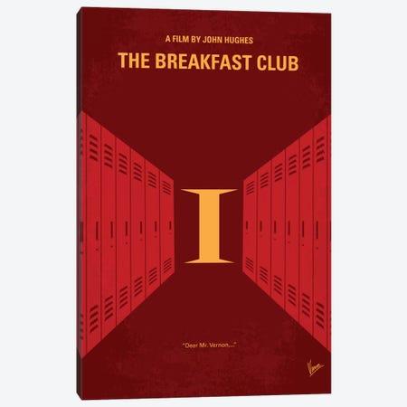 The Breakfast Club Minimal Movie Poster Canvas Print #CKG319} by Chungkong Canvas Art Print