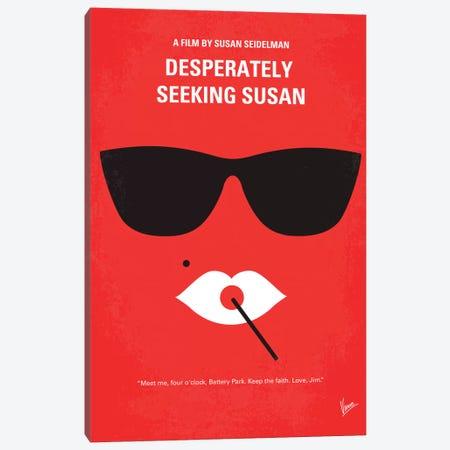 Desperately Seeking Susan Minimal Movie Poster Canvas Print #CKG344} by Chungkong Art Print