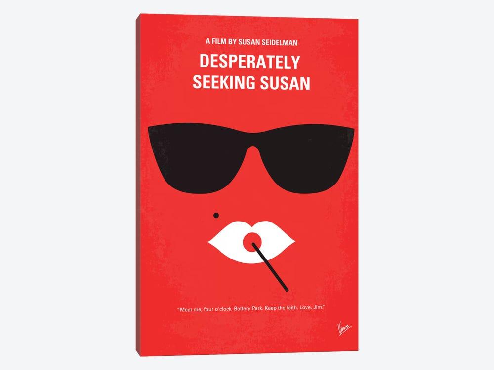 Desperately Seeking Susan Minimal Movie Poster by Chungkong 1-piece Canvas Print