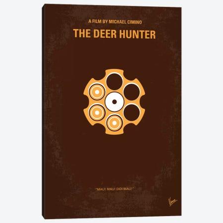 The Deer Hunter Minimal Movie Poster Canvas Print #CKG34} by Chungkong Art Print