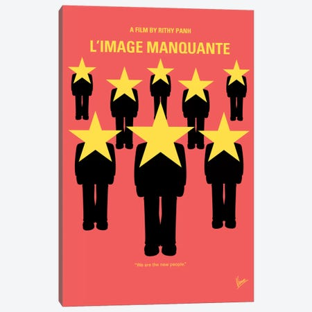 The Missing Picture Minimal Movie Poster Canvas Print #CKG351} by Chungkong Canvas Print