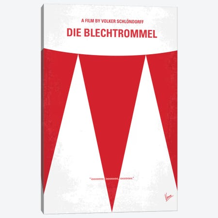 Die Blechtrommel Minimal Movie Poster Canvas Print #CKG37} by Chungkong Art Print