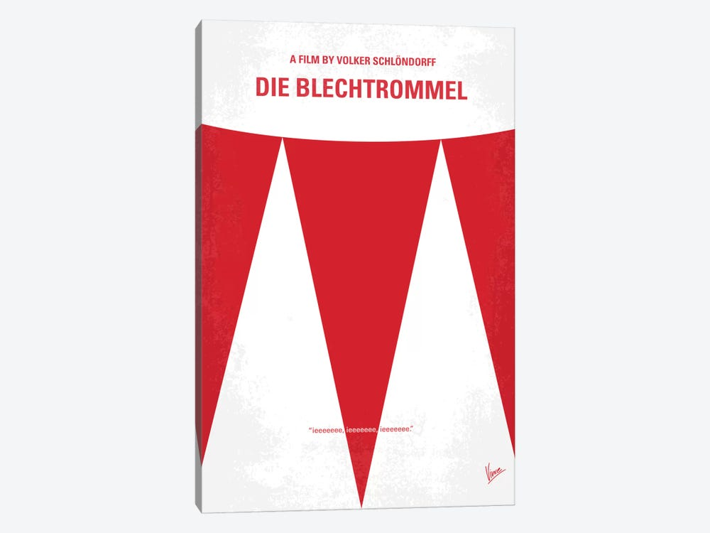 Die Blechtrommel Minimal Movie Poster by Chungkong 1-piece Canvas Art Print