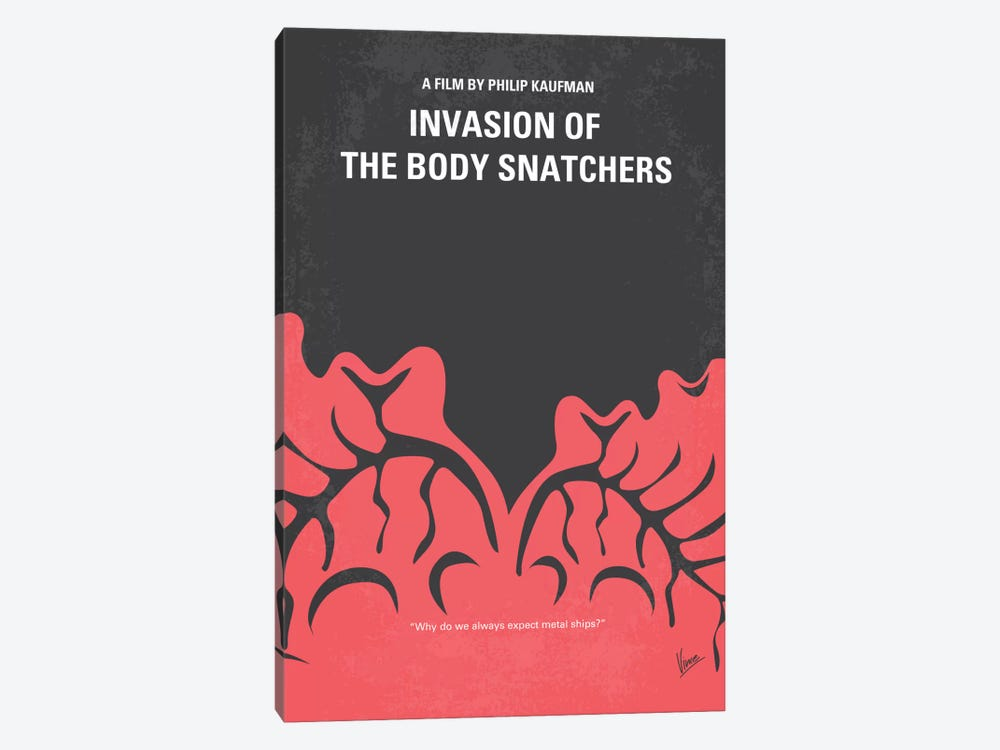 Invasion Of The Body Snatchers Minimal Movie by Chungkong 1-piece Art Print