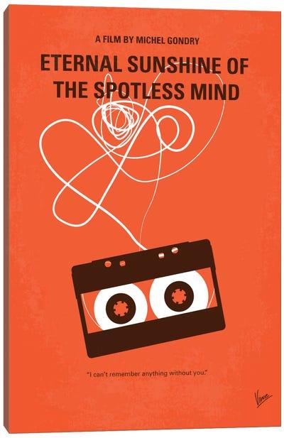 Eternal Sunshine Of The Spotless Mind Minimal Movie Poster Canvas Art Print
