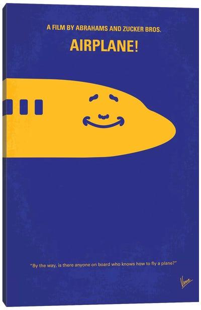 Airplane! Minimal Movie Poster Canvas Print #CKG400