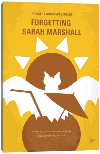 Forgetting Sarah Marshall Minimal Movie Poster Canvas Print #CKG402