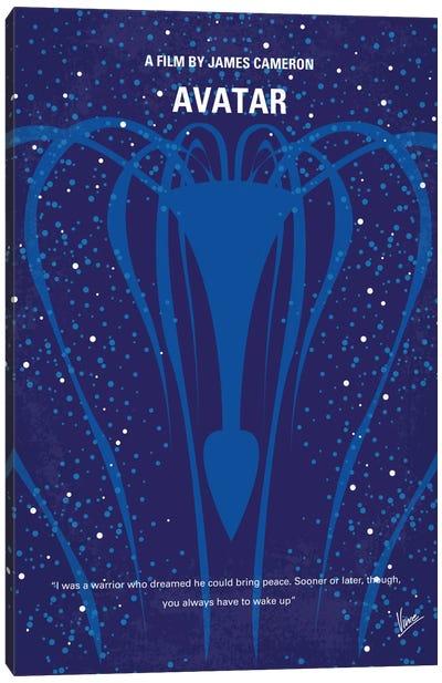 Avatar Minimal Movie Poster Canvas Art Print