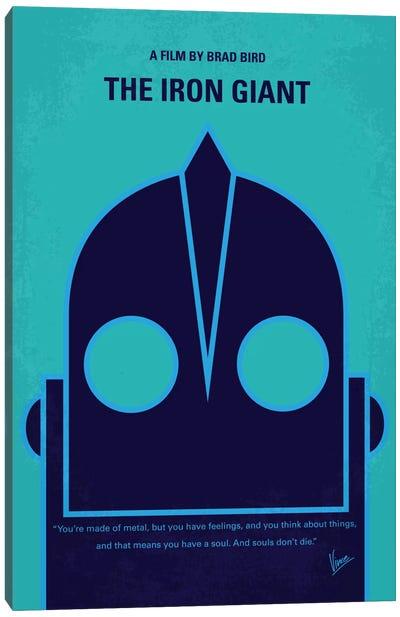 The Iron Giant Minimal Movie Poster Canvas Print #CKG414