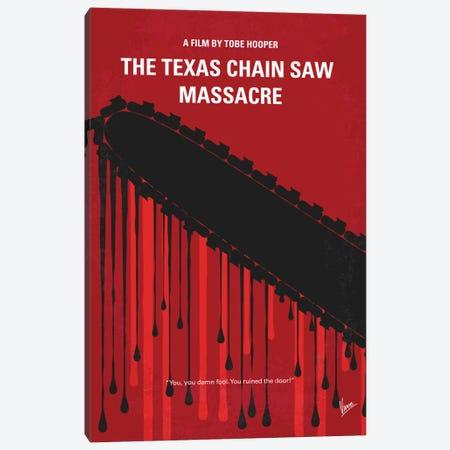The Texas Chain Saw Massacre Minimal Movie Poster Canvas Print #CKG418} by Chungkong Canvas Art